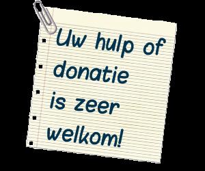 Help ons en doneer